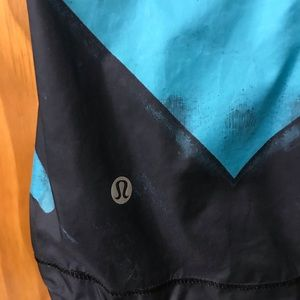 lululemon athletica Jackets & Coats - Lululemon Pack-it Vest Peacock Blue Black-Sz. 2